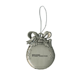 Silver Bulb Ornament-Stacked BMX Canada Engraved