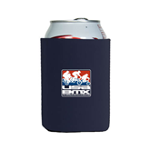 Collapsible Navy Can Holder-Riders on Stacked USA BMX