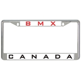 Metal License Plate Frame in Chrome-BMX Canada
