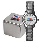 Mens Stainless Steel Fashion Watch-Flag on Stacked USA BMX