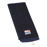 Navy Golf Towel-Riders on Stacked USA BMX