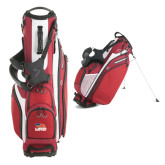 Callaway Hyper Lite 4 Red Stand Bag-Flag on Stacked USA BMX