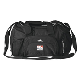 High Sierra Black Switch Blade Duffel-Riders on Stacked USA BMX