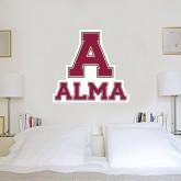 3 ft x 3 ft Fan WallSkinz-Stacked Alma