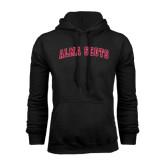 Black Fleece Hoodie-Alma Scots Arched