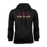 Black Fleece Hoodie-Football Design