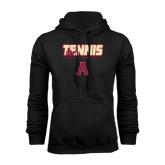 Black Fleece Hoodie-Tennis Design