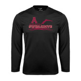 Performance Black Longsleeve Shirt-Swim and Dive