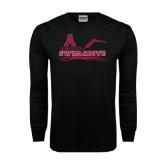 Black Long Sleeve TShirt-Swim and Dive