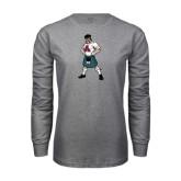 Grey Long Sleeve T Shirt-Scotty