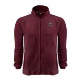 Fleece Full Zip Maroon Jacket-Scotty
