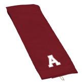 Maroon Golf Towel-Official Logo