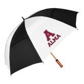 62 Inch Black/White Umbrella-Stacked Alma