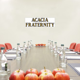 6 in x 2 ft Fan WallSkinz-ACACIA Fraternity Stacked