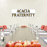 1.5 ft x 4 ft Fan WallSkinz-ACACIA Fraternity Stacked