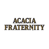Medium Decal-ACACIA Fraternity Stacked, 8in wide