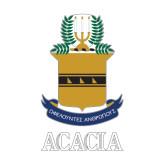 Medium Decal-ACACIA Crest, 8in tall