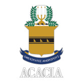 Large Decal-ACACIA Crest, 12in tall