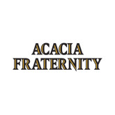 Small Decal-ACACIA Fraternity Stacked, 6in wide