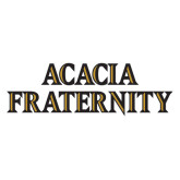 Extra Large Decal-ACACIA Fraternity Stacked, 18in wide