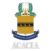Extra Large Decal-ACACIA Crest, 18in tall