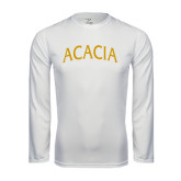 Syntrel Performance White Longsleeve Shirt-ACACIA Arched