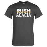 Charcoal T Shirt-Rush ACACIA