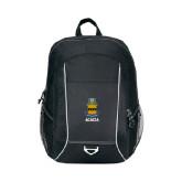 Atlas Black Computer Backpack-ACACIA Crest