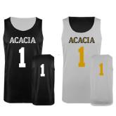 Black/White Reversible Tank-Acacia