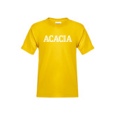 Youth Gold T Shirt-ACACIA