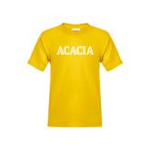 Youth Gold T Shirt-ACACIA