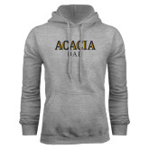 Grey Fleece Hoodie-ACACIA Dad