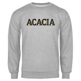 Grey Fleece Crew-ACACIA