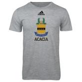 Adidas Sport Grey Logo T Shirt-ACACIA Crest