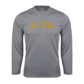 Performance Steel Longsleeve Shirt-ACACIA Arched