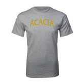 Grey T Shirt-ACACIA Arched