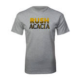 Grey T Shirt-Rush ACACIA
