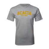 Grey T Shirt-ACACIA Est. 1904