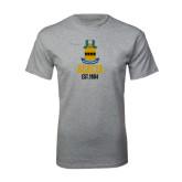Grey T Shirt-ACACIA Crest