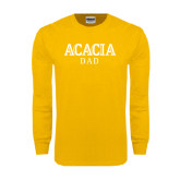 Gold Long Sleeve T Shirt-ACACIA Dad