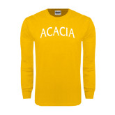 Gold Long Sleeve T Shirt-ACACIA Arched