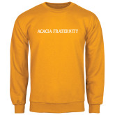 Gold Fleece Crew-ACACIA Fraternity