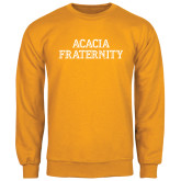 Gold Fleece Crew-ACACIA Fraternity Stacked