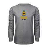 Grey Long Sleeve T Shirt-ACACIA Crest