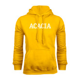 Gold Fleece Hoodie-ACACIA