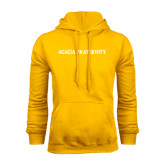 Gold Fleece Hoodie-ACACIA Fraternity