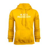 Gold Fleece Hoodie-ACACIA Fraternity Stacked