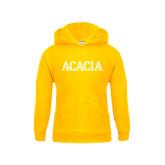 Youth Gold Fleece Hoodie-ACACIA