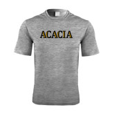 Performance Grey Heather Contender Tee-ACACIA