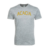 Next Level SoftStyle Heather Grey T Shirt-ACACIA Arched